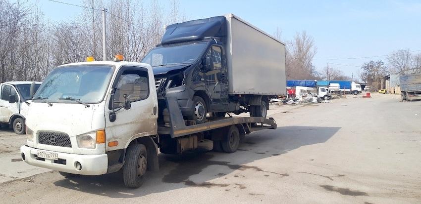 Эвакуация Газели из Ростов-на-Дону в Тверь рис. 1