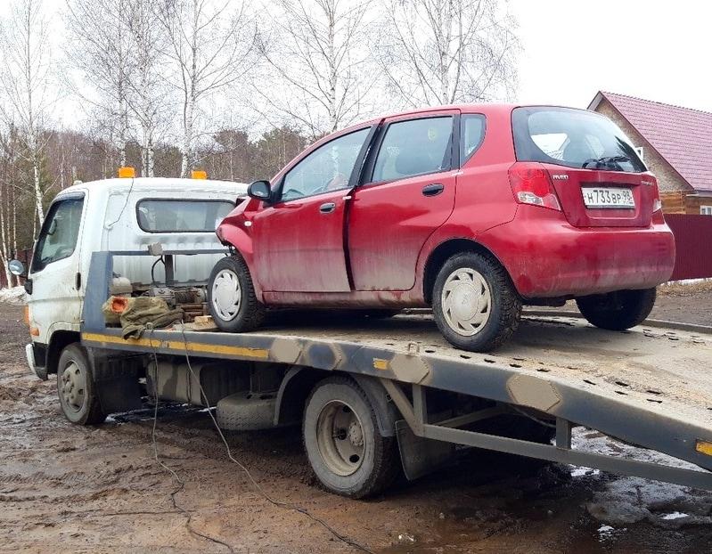 Перевозка Chevrolet Aveo рис. 1