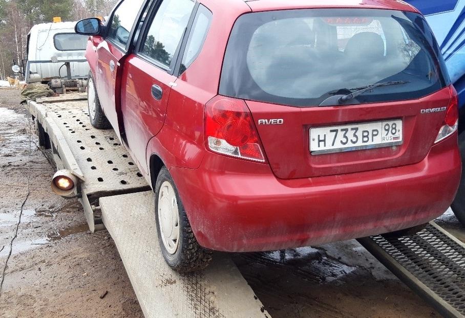 Перевозка Chevrolet Aveo рис. 3