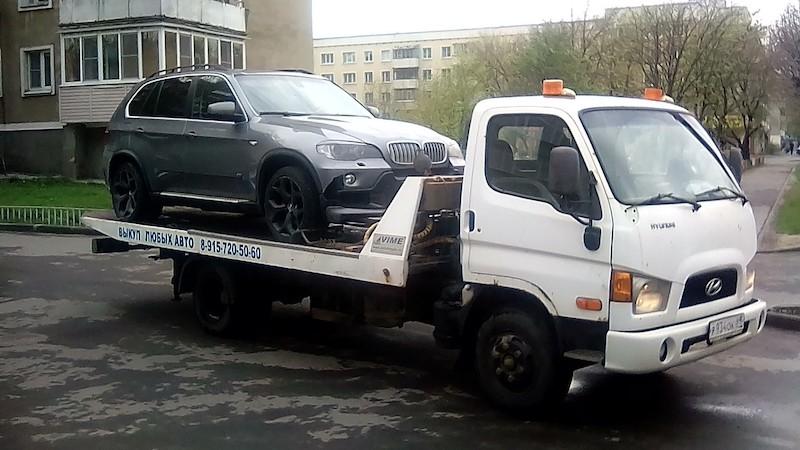 Эвакуировали BMW Х5 рис. 1