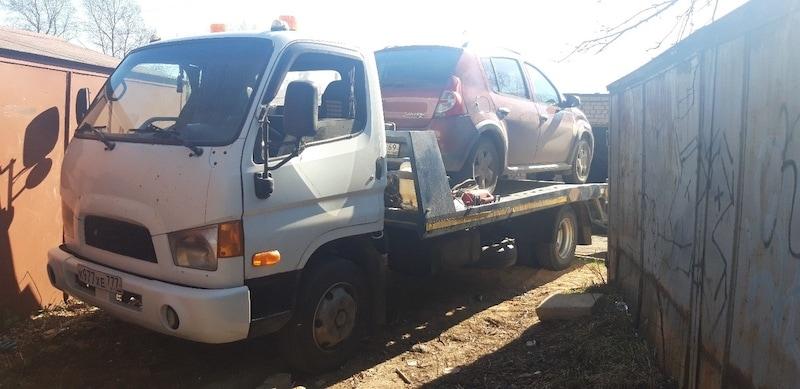 Эвакуация авто должника рис. 175
