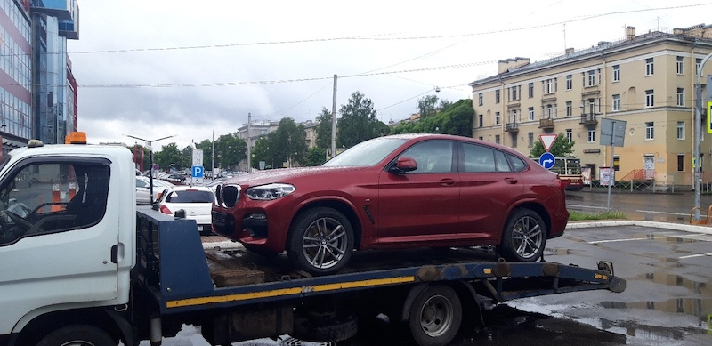 Доставка нового автомобиля заказчику BMW X4M рис. 3