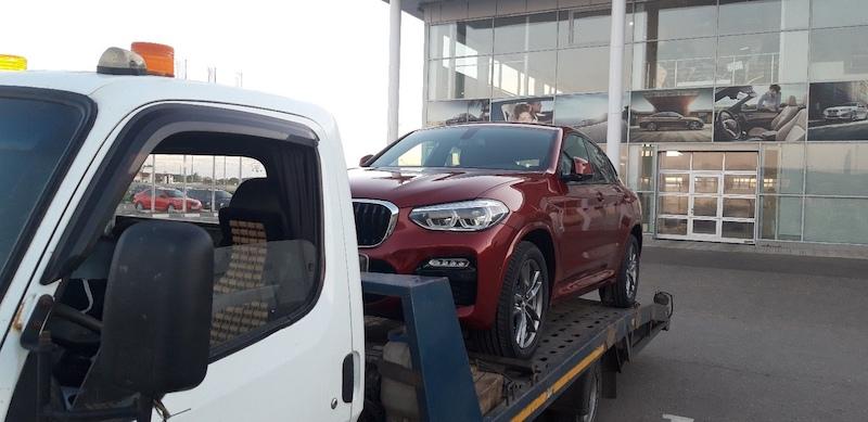 Доставка нового автомобиля заказчику BMW X4M рис. 1