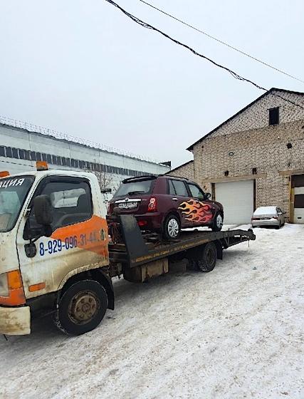 Интересные эвакуации авто за февраль 2021 рис. 1